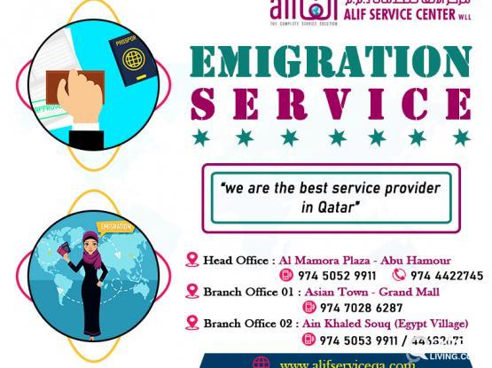 Emigration Services Qatar | Emigration Services Services | Emigration Consultancy Services