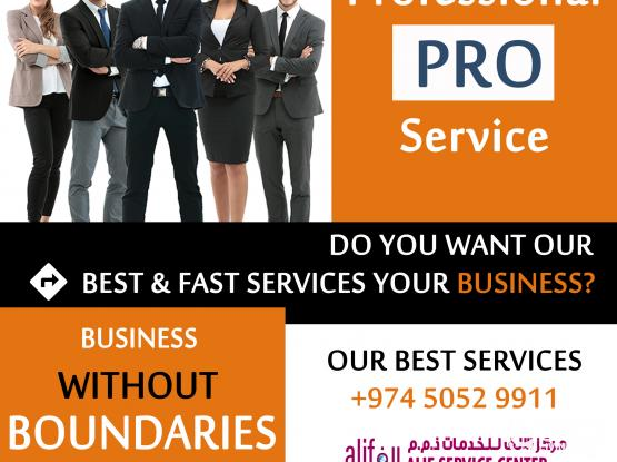 PRO Services in Qatar | Professional Services Meaning | Professional Service | Professional Service