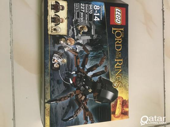 Lego 9470 Lord of the Rings Shelob