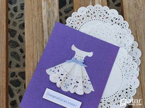Occassion cards and accessories making