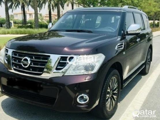 Nissan Patrol Platinum 2014