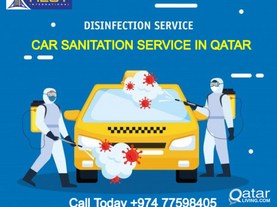 Car Disinfection Sanitation Services