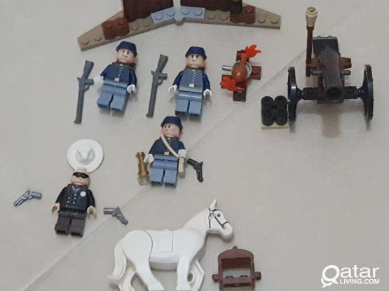 Lone Rangers Lego set