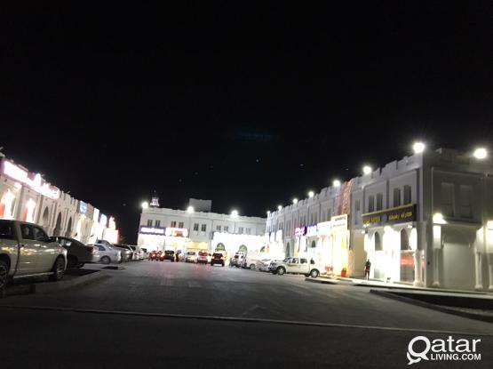 family 1 bhk  with furnished and un- furnished in wukir near al furjan market