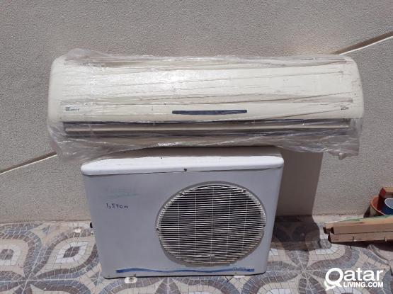 WINDOWS AC FOR SALE 1.5 TON GOOD CONDITION