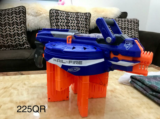 Nerf and different kind of guns