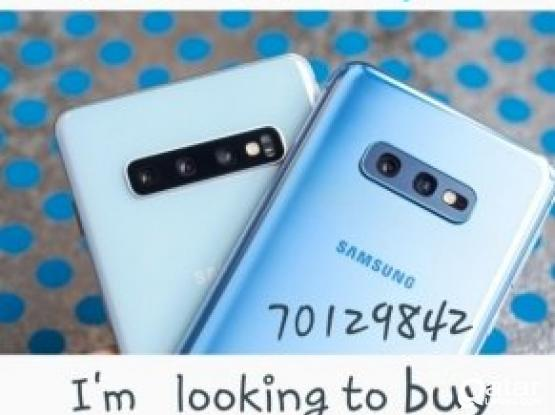 Buying s10+  s10. s20 s20 + ultra SAMSUNG  ...