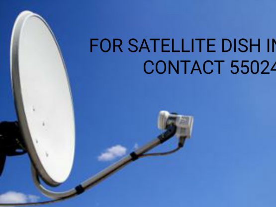 All kind of Satellite dish Installation and servic