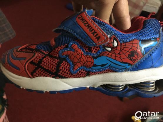 Spider-Man shoe