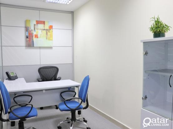 Luxury Private Fully Furnished  offices  with commercial license