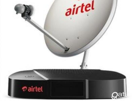All kinds of satellite dish receiver sale and installation 33083167 Airtel big dish receiver available