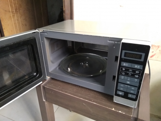 Sharp microwave free delivery