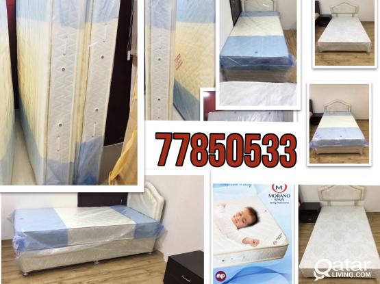 SPRING MATTRESSES AND DIVAN BED ALL SIZE AVAILABLE BRAND NEW - Ph :77850533