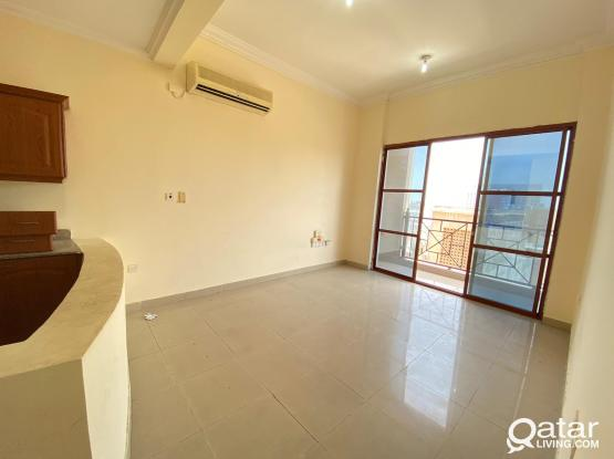 1 BHK Beautiful Flat with Balcony (Free Utilities) in Umm Ghuwailina