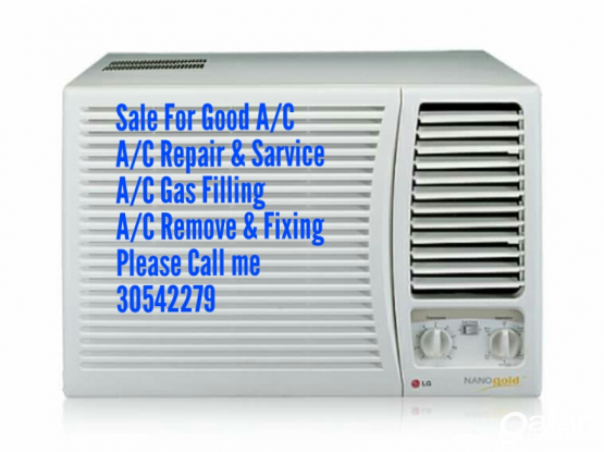 A/C selling and fixing repairing and service call  30542279