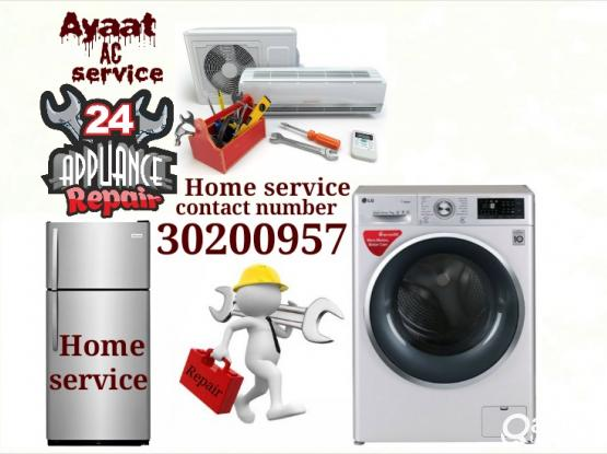 AC fridge and washing machine repair 30200957