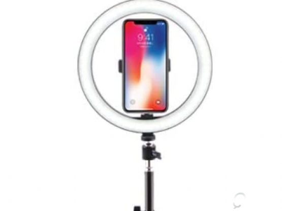 TRIPOD STAND WITH RING LIGHT