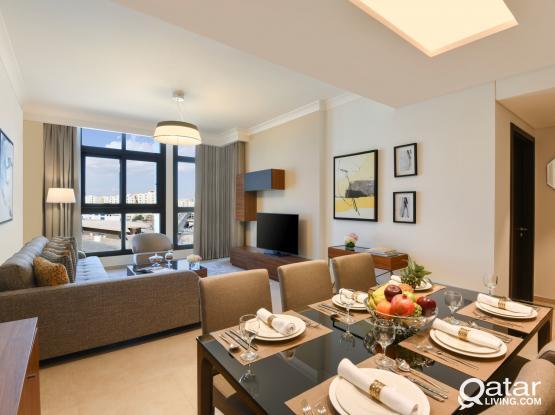 Stylish 1 Bedroom Apartment,all bills+1M Free