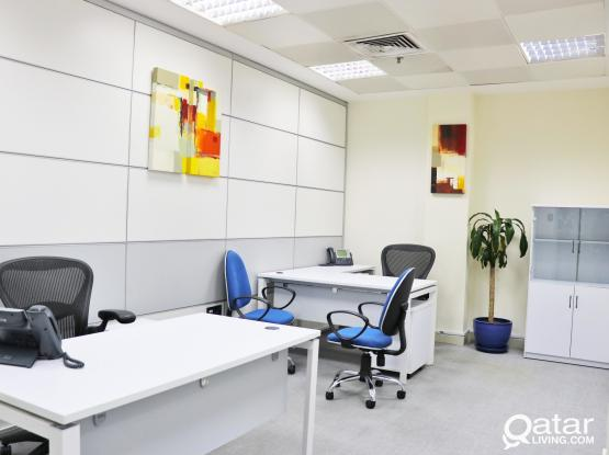OFFICE SPACE FOR RENT ( Two seater ) -With license