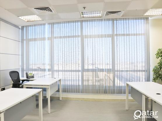 OFFICE SPACE FOR RENT  - Fully furnished and serviced