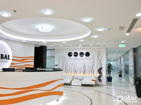 luxury business center in cornish road! private offices