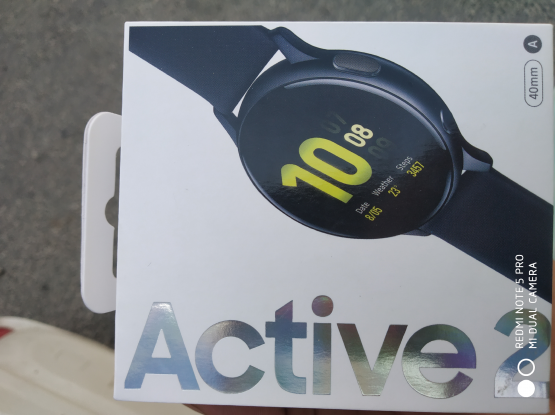 Samsung smart watch active 2 and samsung ear buds