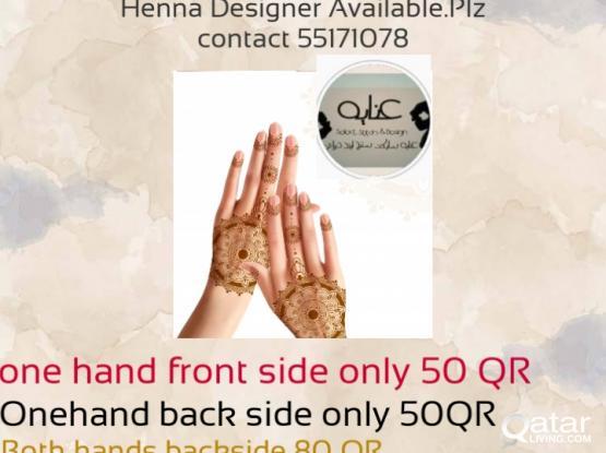 Henna Designer Avaialable
