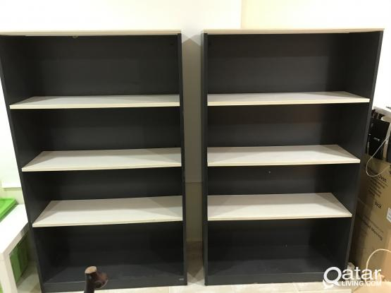 For Sale - 2 Book Shelves, QAR-380 for both