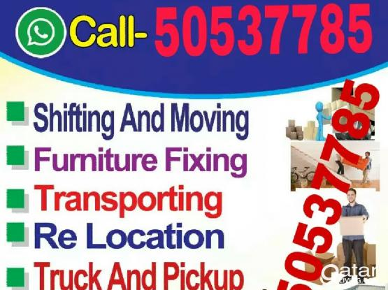 We do moving shifting for good price, Please call or WhatsApp 50537785