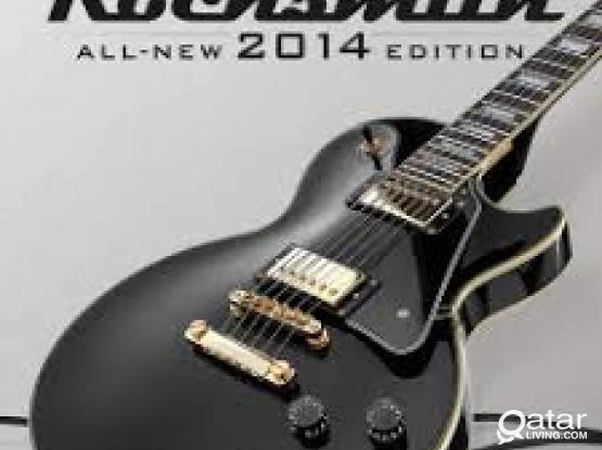 Rocksmith PS4 Game Guitar training