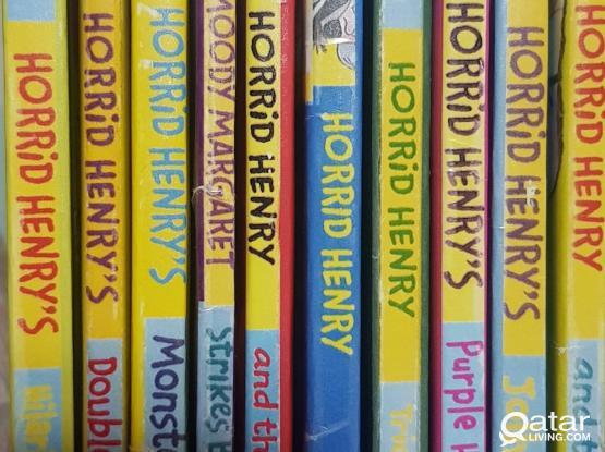 Horrid Henry English series books