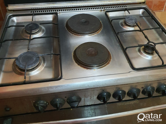 Cooking range (stove) with oven