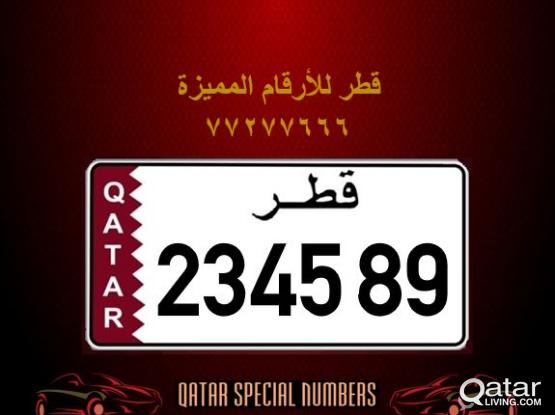 234589 Special Registered Number