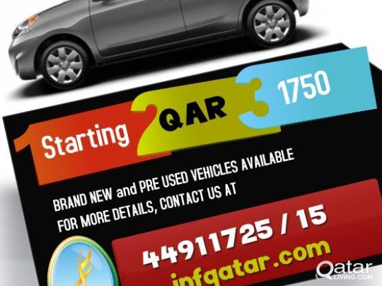 Nissan MICRA-2020 @ ZERO DP.  Book online at www.jnfqatar.com