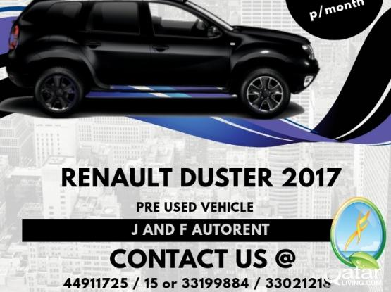 Renault Duster for Rent to Own from QAR 1700
