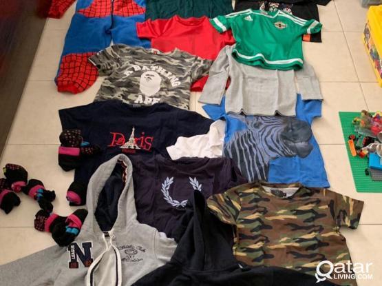 Boys Clothes Bungle