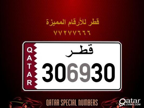 306930 Special Registered Number
