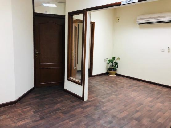 Semi-Furnished Office space ( 4 Big Rooms+ 2 bathroom + Recep. Salwa-Road- Opposite Nissan Showroom