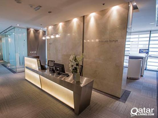No Commission! Luxurious QFC Approved Private Offices For 3 to 5 Peoples Available in Jaidha Square