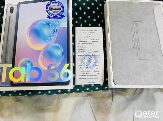 Bought it Today Samsung Tab S6 128GB 4G and Wifi