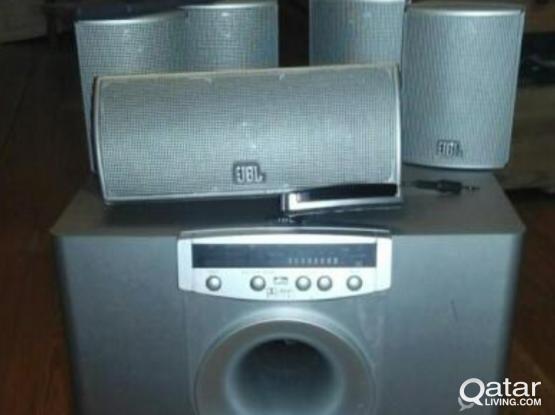 Jbl xcite 5.1 home theater speaker system