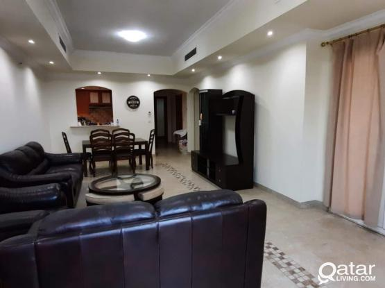 Hot Offer - Fully Furnished 2 BHK @ Pearl Just Qar.10,000  - 1  Month Free