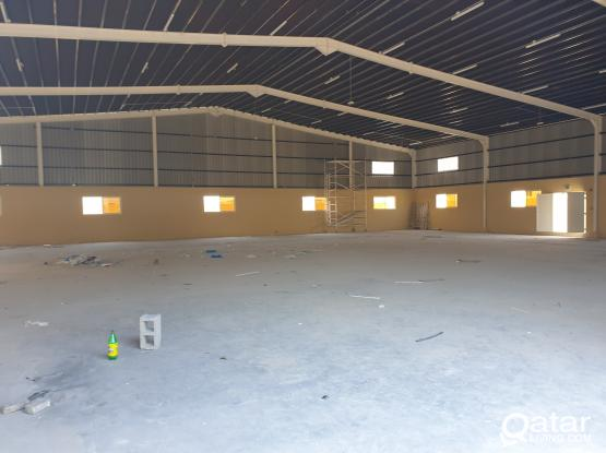 warehouse 1050sq.m + 12 Rooms + 3months Free