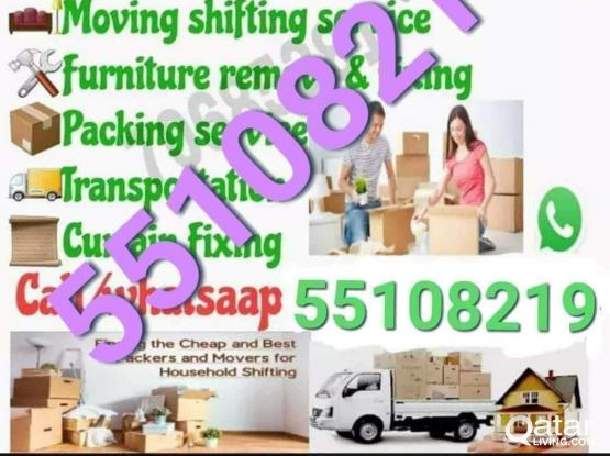 All kinds of Moving and shifting. Good price. Please call 55108219