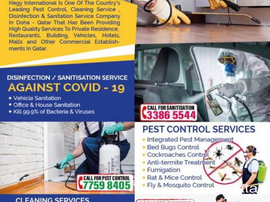 Pest Control & Cleaning services company
