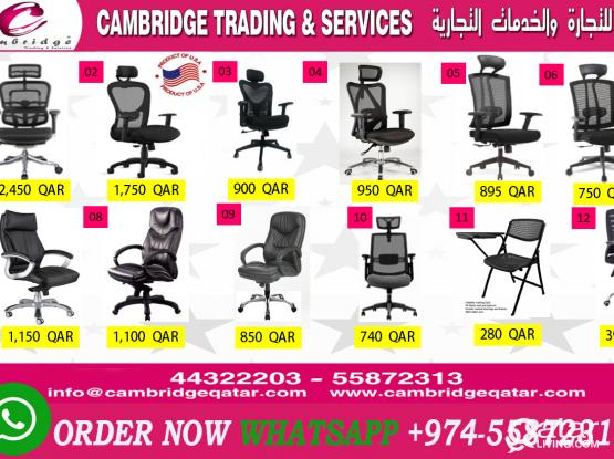 Office Chair Promotion Qatar  - Cambridge Trading and services