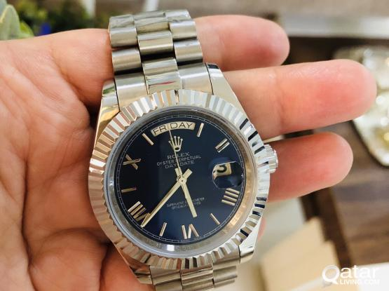DATE JUST BLUE DIAL 1:1 AUTOMATIC FINAL PIECE
