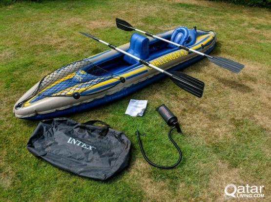 Intex kayak 2 person