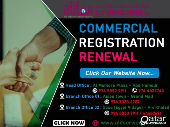 CALL US 3366 9920 | 5544 0072 Commercial Register Renewal | Company Registration Services | Company Registration