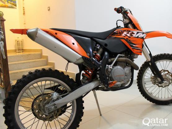 KTM 525 EXC 2010
